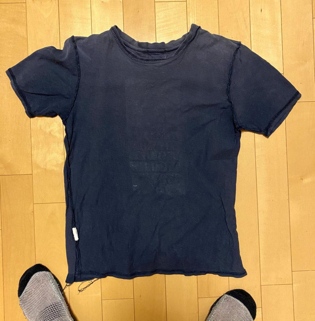 準備したTシャツ