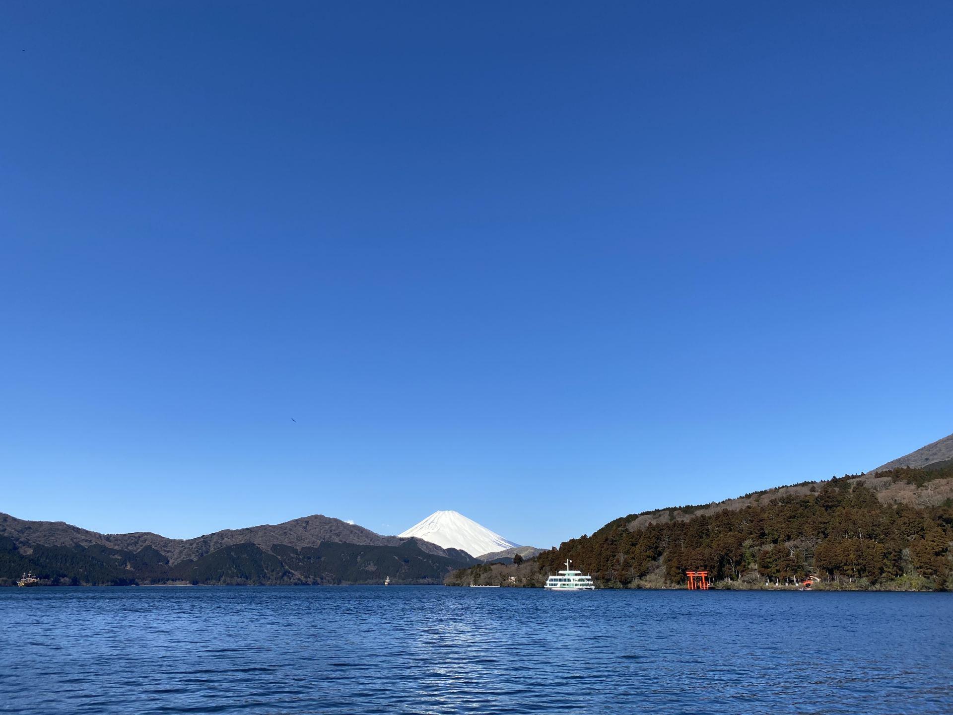芦ノ湖1周ジョギングコース