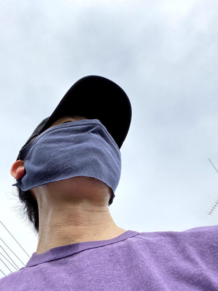 フェイスマスク実走1