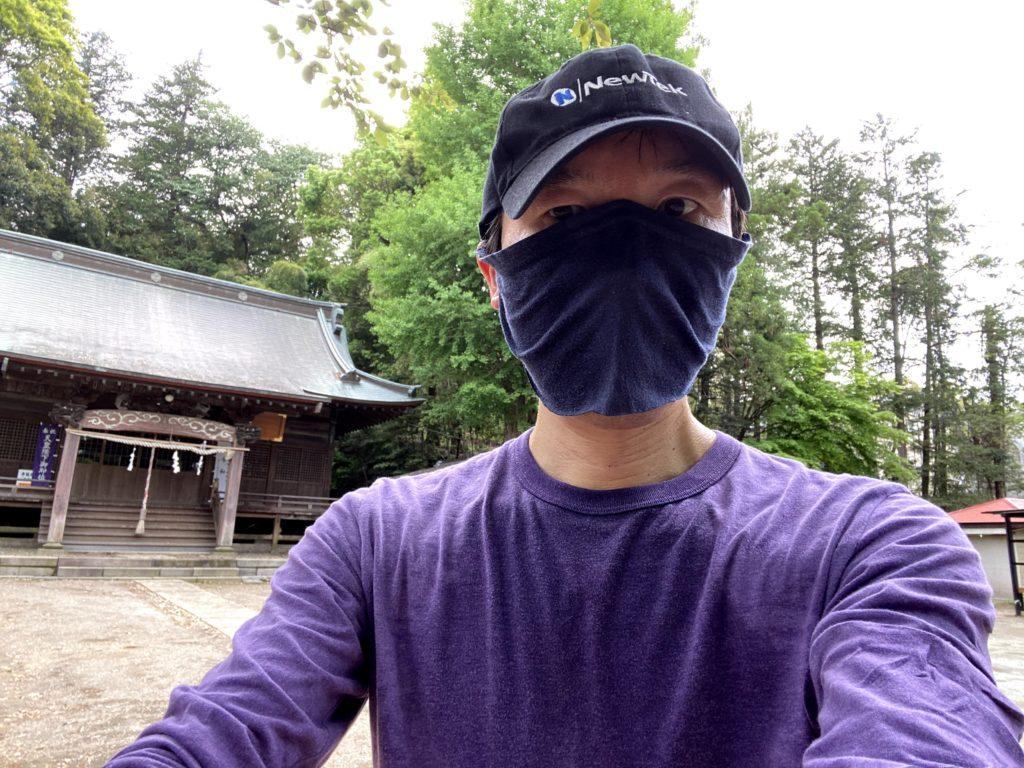 フェイスマスク実走2