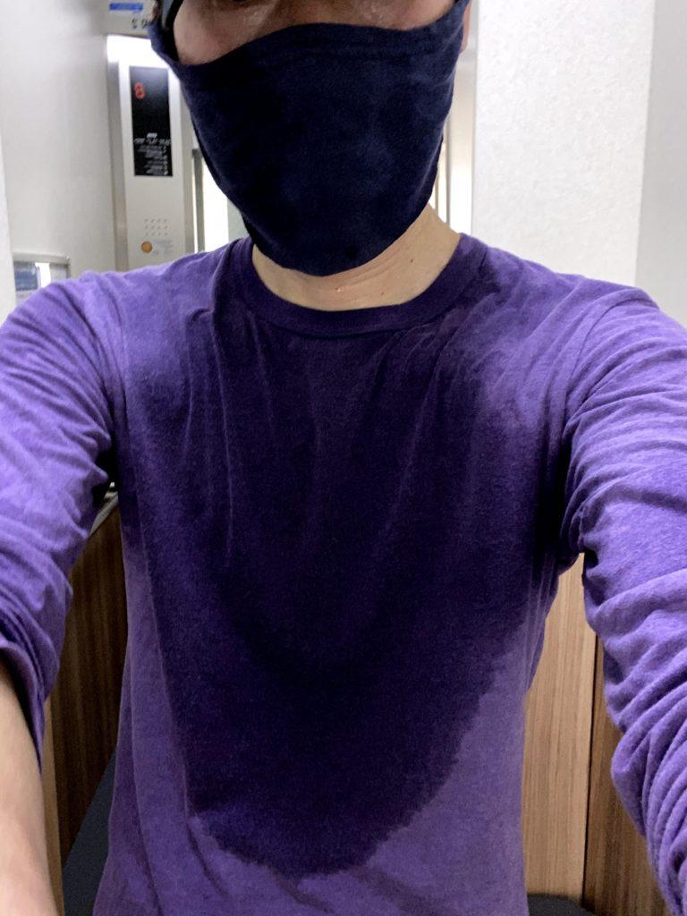 フェイスマスク実走3