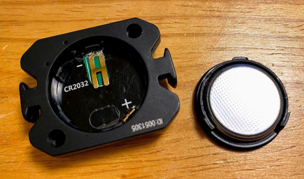 XOSSの電池