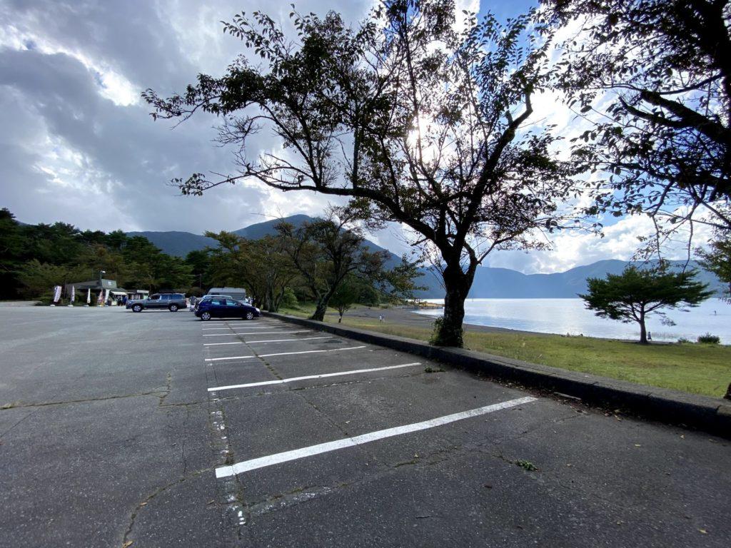 本栖湖駐車場