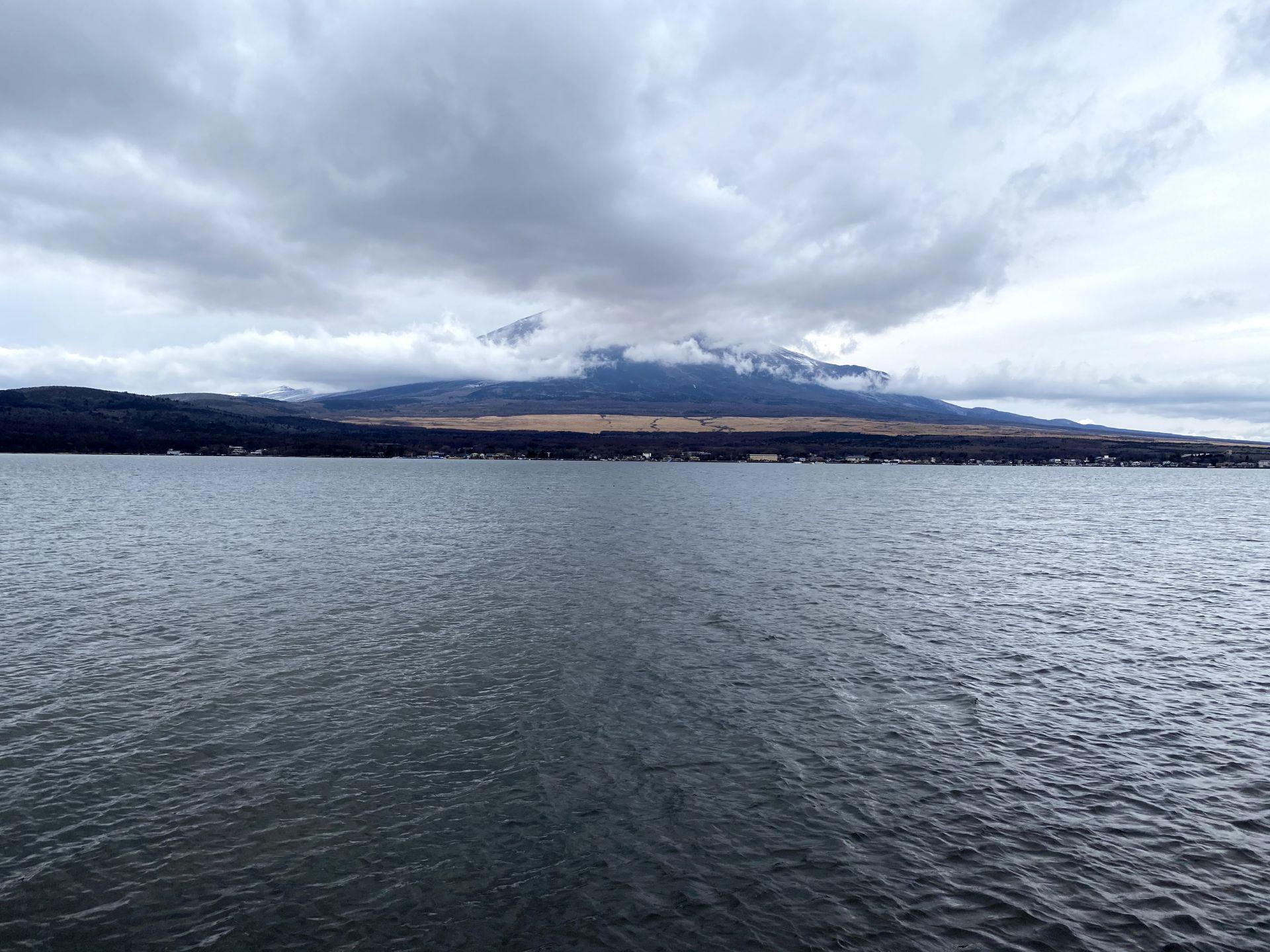 山中湖一周